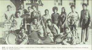 Mr. Thomas 1973 jazz band
