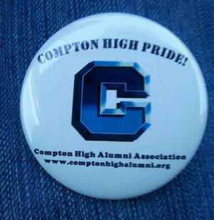 Compton High Pride badge